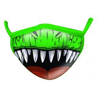 Masque fantaisie Adulte en tissu - T-rex