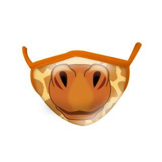 Masque fantaisie Adulte en tissu - girafe