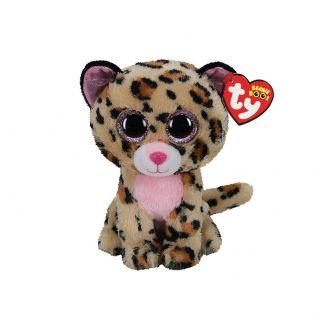 Ty Beanie Boo's Livvie Leopard, 15cm 2007518