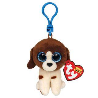 Ty Beanie Boo's Clip Muddles Dog, 7cm 2007537