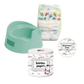Heless - Dolls Potty with Accessories, 15cm 806