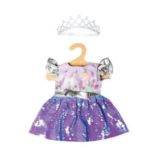 Heless - Doll Dress Fairy and Unicorn with Sequins and Crown, 28-35 cm 1131