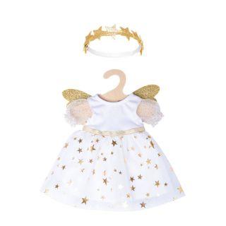 Heless - Doll dress Angel with Stars, 28-35 cm 1152