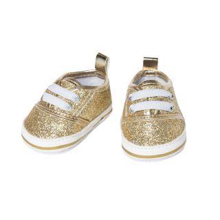 Heless - Doll sneakers Glitter Gold, 30-34 cm 1461