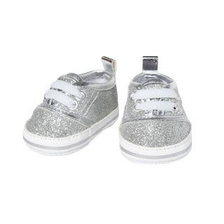 Heless - Doll sneakers Glitter Silver, 30-34 cm 1471