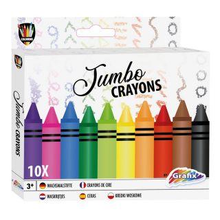Jumbo Crayons Artist, 10pcs. 150033