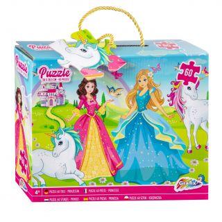 Floor puzzle Princesses, 60pcs. 400024