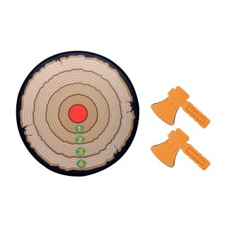 Toy Ax Throwing with Target, 3pcs. 19438