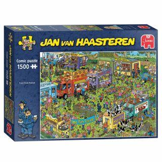 Jumbo - Jan van Haasteren Puzzle - Food Truck Festivals, 1500pcs. 20042