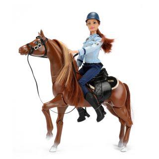 Lauren Teen Doll Police on Horseback 04840A