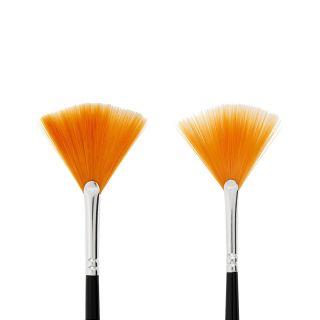 Creativ Company - Gold Line fan brushes, 2pcs. 100279