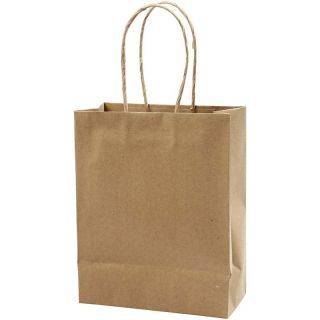 Creativ Company - Paper Bags Brown, 10pcs. 23369
