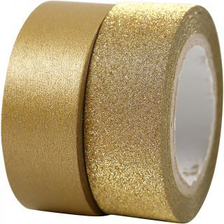Creativ Company - Masking Tape Gold 2m, 2pcs. 25220