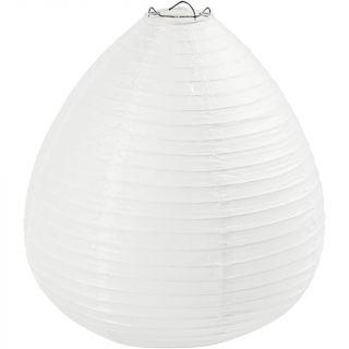 Creativ Company - Rice Paper Lamp White Drop, 27cm 500282