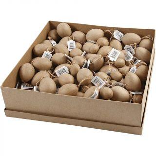Creativ Company - Eggs Papier-mache, 140pcs. 51042