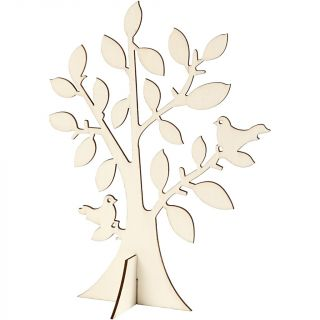 Creativ Company - Wooden Tree with Foot 57949