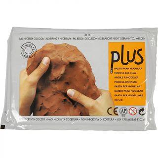 Creativ Company - Self-hardening modeling clay Terracotta, 1000gr 789040