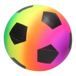 Neon Rainbow Football BL-58021