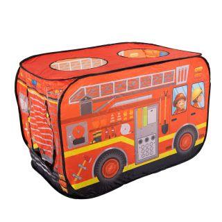 Pop-up Play Tent Fire Truck 995-7035B