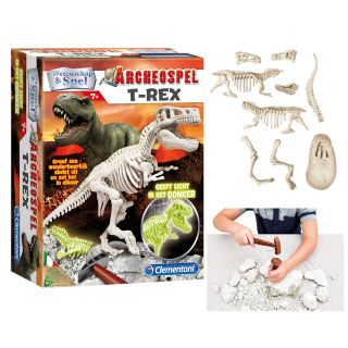 Science & Game Archaeological Game - T-Rex Fluo