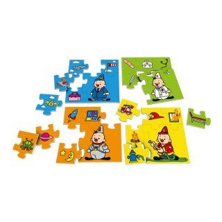 Studio 100 puzzle 4 en 1 Bumba métiers