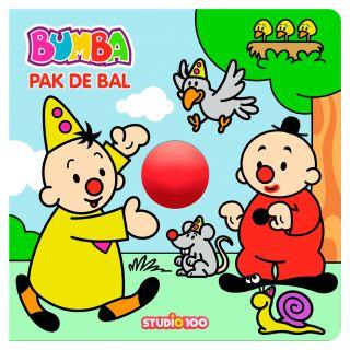 Studio 100 Livre cartonné Bumba attrape le ballon