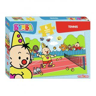 Bumba Puzzle - Tennis, 6st.