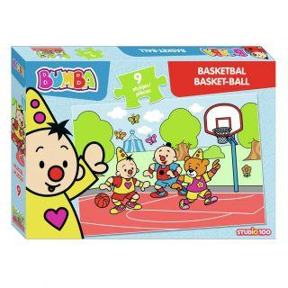 Bumba Puzzle - Basketball, 9st.