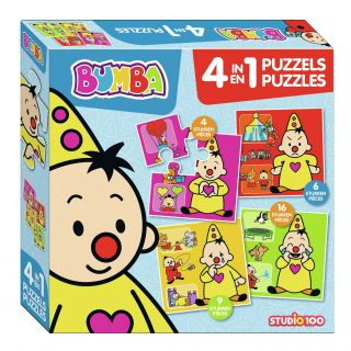 Bumba Puzzle, 4in1