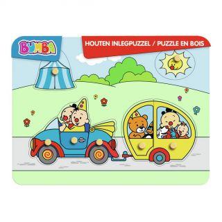 Bumba Wooden Puzzle Car