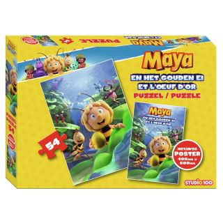 Maya the Bee Puzzle with Poster