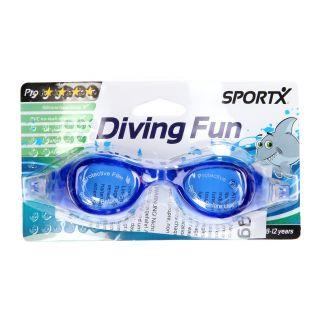 Jouet-Plus Lunettes de natation Junior bleu 0766008