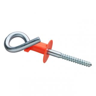 Swing hook curl with ks safety clip