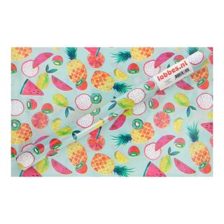 Wrapping paper Fruit, 3 mtr.