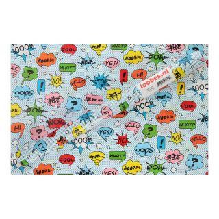 Jouet-Plus Papier cadeau imprimé messages, 300 x 50 cm