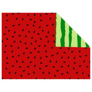 Wrapping paper Watermelon Double sided, 3 mtr.