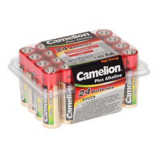 Jouet-Plus Pack de 24 piles Camelion Alcaline LR6 Mignon AA