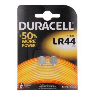 Duracell Pile bouton LR44 1.5V, 2pcs