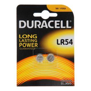Duracell Pile bouton LR54 1.5V, 2pcs