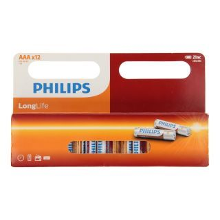 Philips Pile Longlife AAA / R03, 12pcs