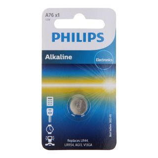 Philips Pile bouton au Bouton Lithium LR44 1.5 V