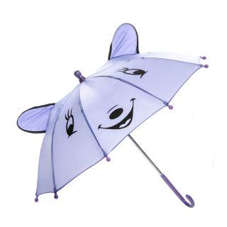 Jouet-Plus Parapluie Happy Animal mauve, Ø 50 cm