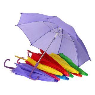 Jouet-Plus Parapluie enfant, set de 12, Ø 50 cm