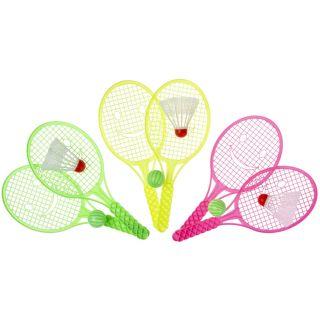 Jouet-Plus set de tennis avec balle et navette 5101