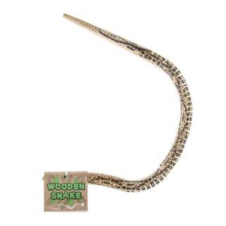 Jouet-Plus Serpent d'enroulement en bois