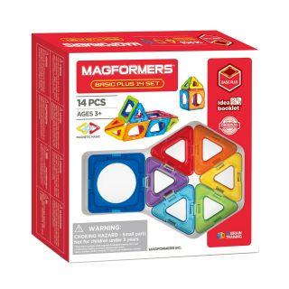 Magformers Basic set Plus, 14 pcs.