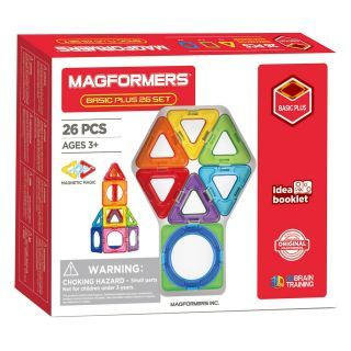 Magformers Basic set Plus, 26 pcs.
