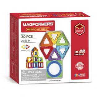 Magformers Basic set Plus, 30 pcs.
