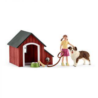 Schleich Doghouse