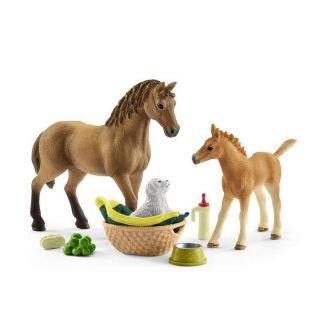 Schleich Baby Animals Nursing Set